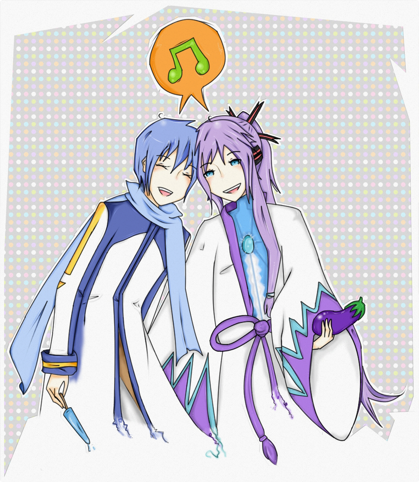 gakupo and kaito - photo #17