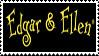 Edgar and Ellen Stamp by Cornelia-Yammy