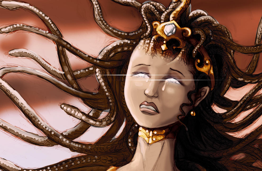 Medusa Head by Shafiqur by Shafiqur