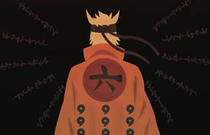Naruto Uzumaki (Rikudou Sennin/Rokudaime Hokage) by Indiandwarf