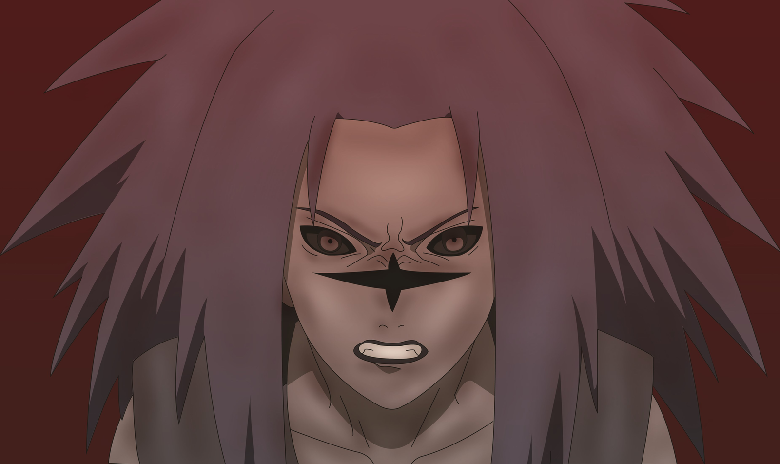 pin anime cursedmark sasuke naruto wallpaper desktop sasuke