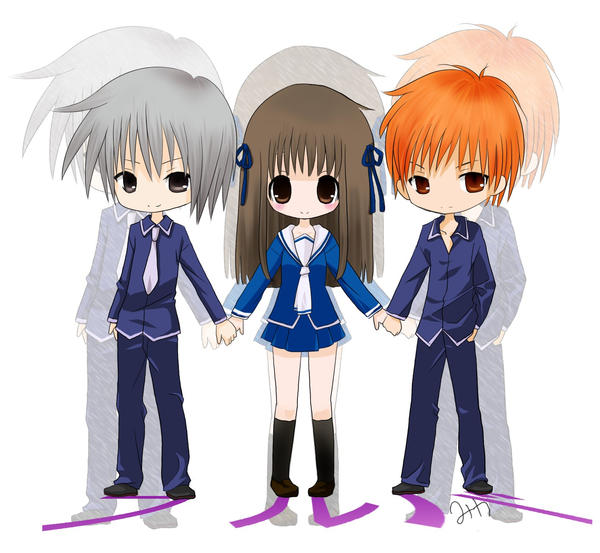 Fruits Basket Where To Watch: Fruits Basket Chibis By MiKa-dorable On DeviantArt