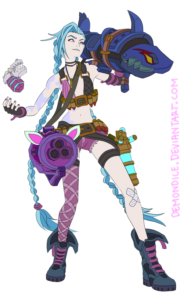 Jinx The Loose Cannon by DemonDice