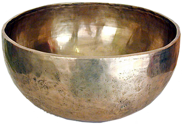 Buddhist Plain Silver Singing Bowl by LilipilySpirit