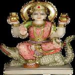 Indian Goddess Ganga statue