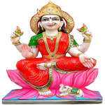 Indian Goddess Lakshmi statue
