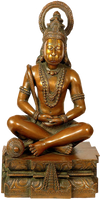 Indian Lord Hanuman statue