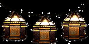 Strung Moroccan Bazaar Lamps