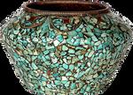Buddhist Turquoise Bowl