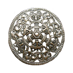 Ancient Nordic Borre Beasts jewelry element
