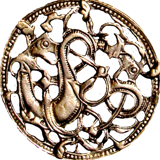 Ancient Nordic Viking Dragons jewelry element by ...