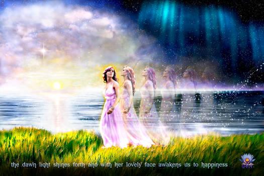 The Goddess Aurora - Bringer of Light