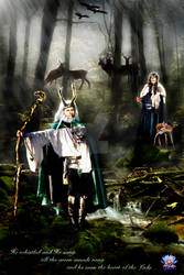 Lord and Lady of the Green Woods