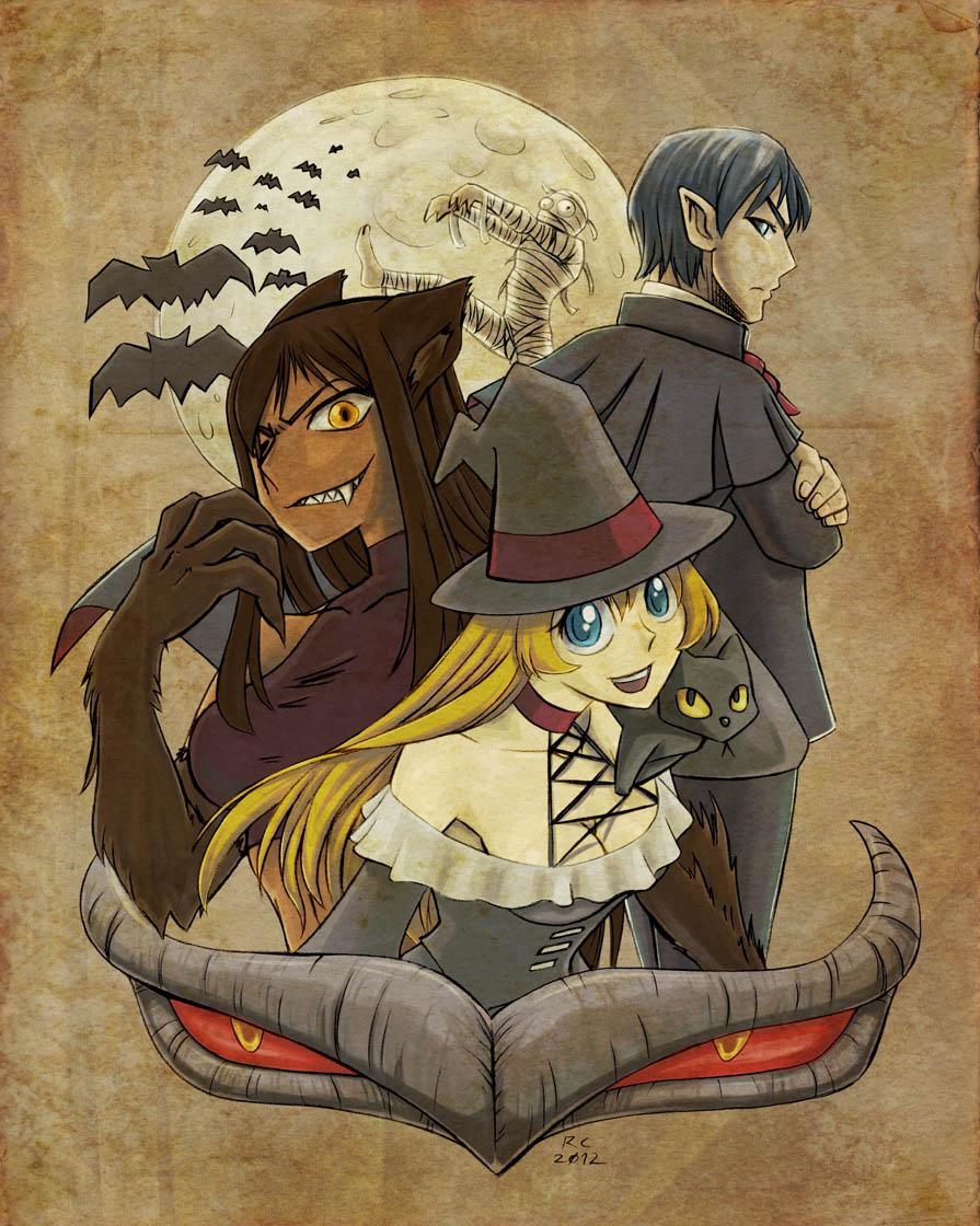 Anime Werewolf And Vampire Anime Werewolves And Vampires