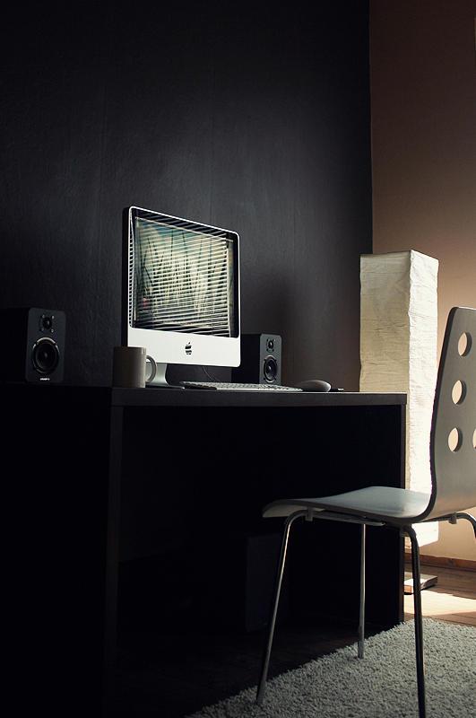 Simple workstation.