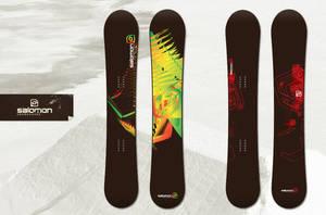 Salomon Snowboards Contest by denull