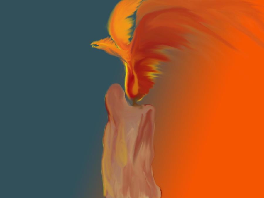 Pheonix Candle by DemonicRhino