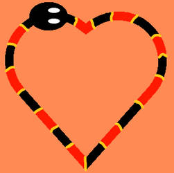 Coral Snake Heart by ArielTiana