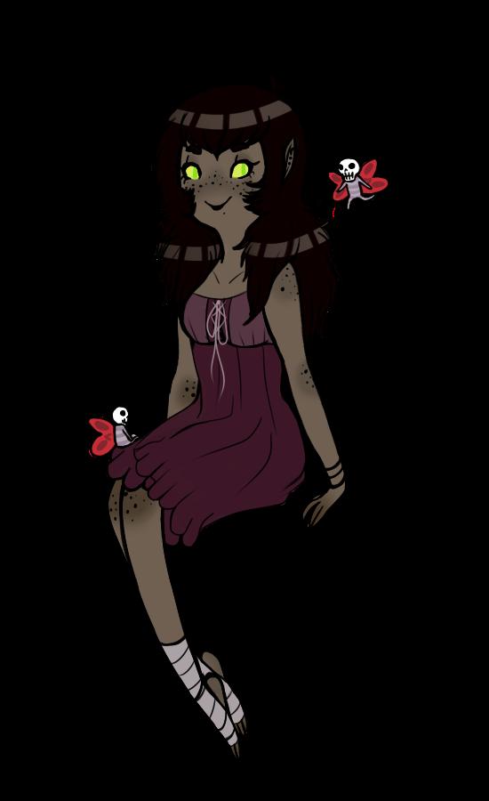 Melanie the phooka by Askthewerewolfprince