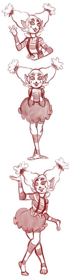 Mimette doodles