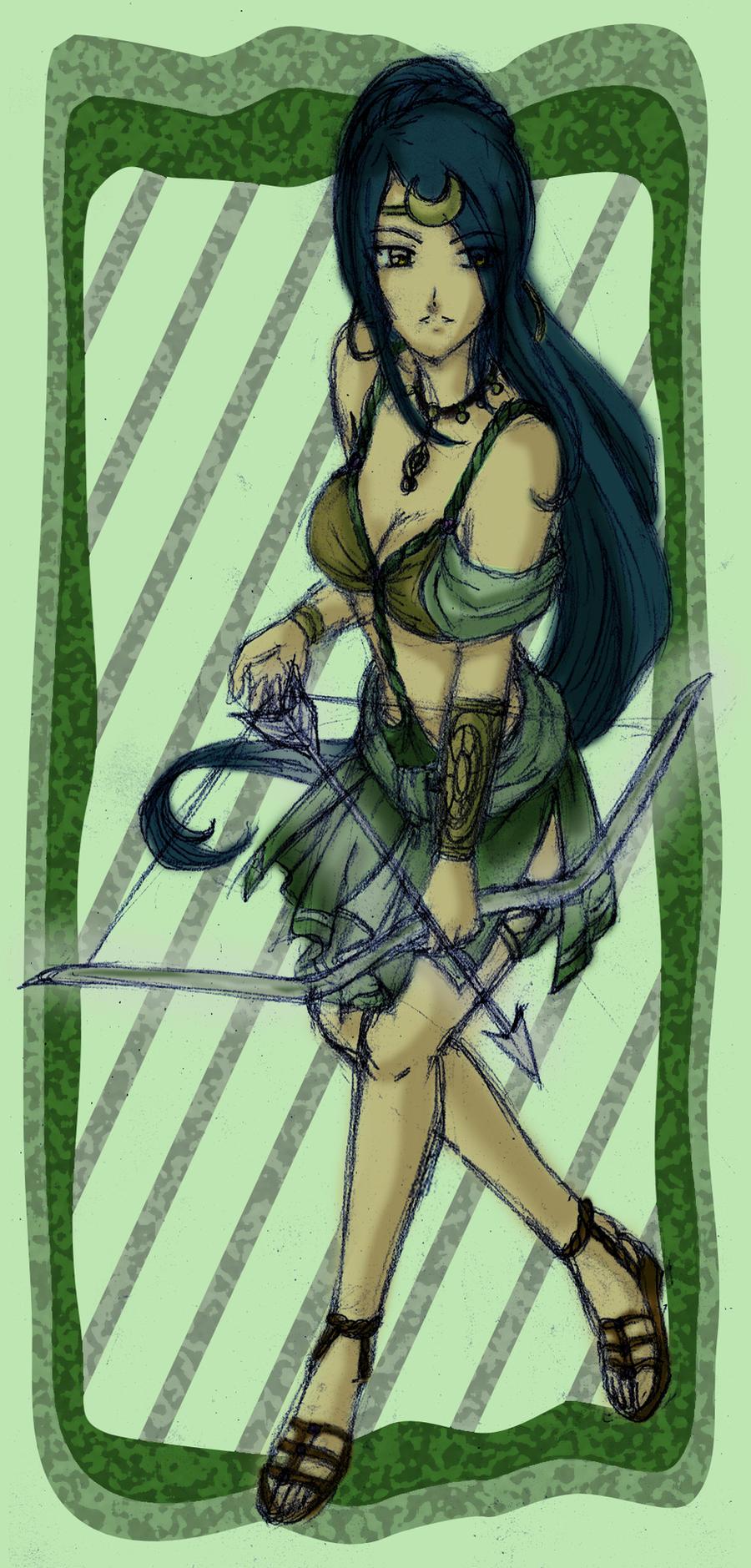 Artemis by lordaphaius28 on DeviantArt