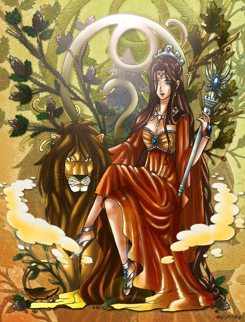 Greek goddess of nature