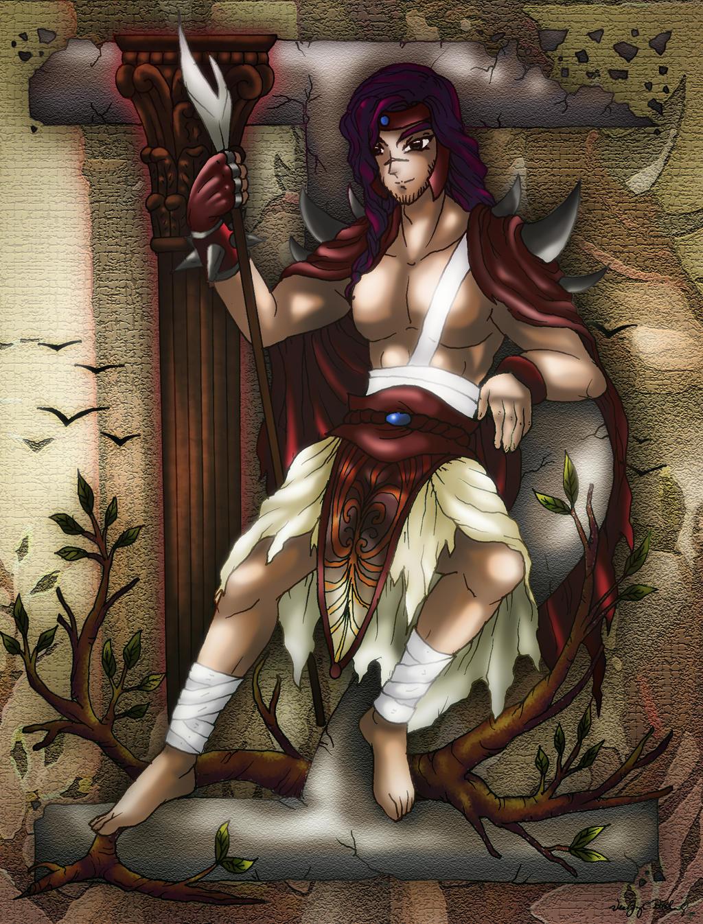 Iapetus of the West by lordaphaius28Iapetus Greek Mythology