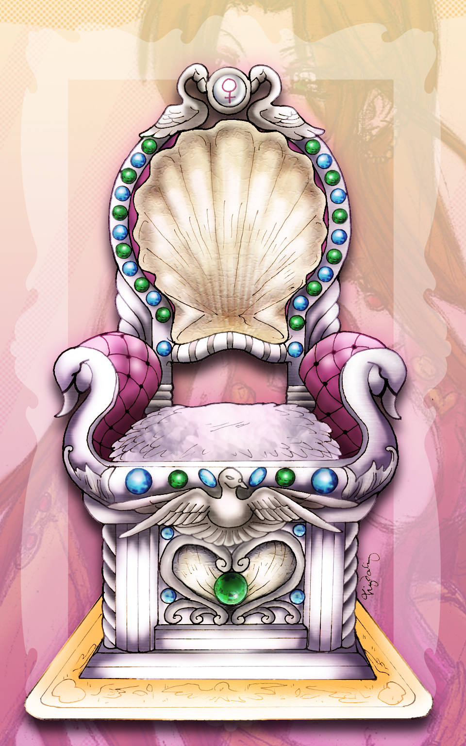 Aphrodite's Throne of Passion by lordaphaius28 on DeviantArt