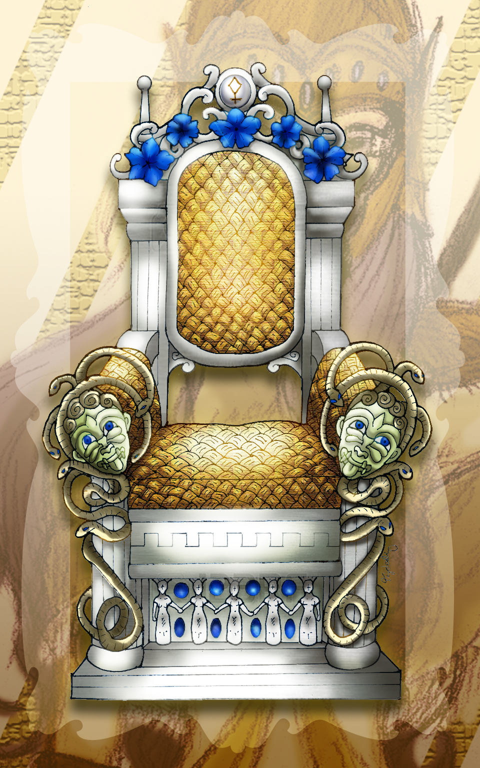Athena's Throne of Intellect by lordaphaius28 on DeviantArt