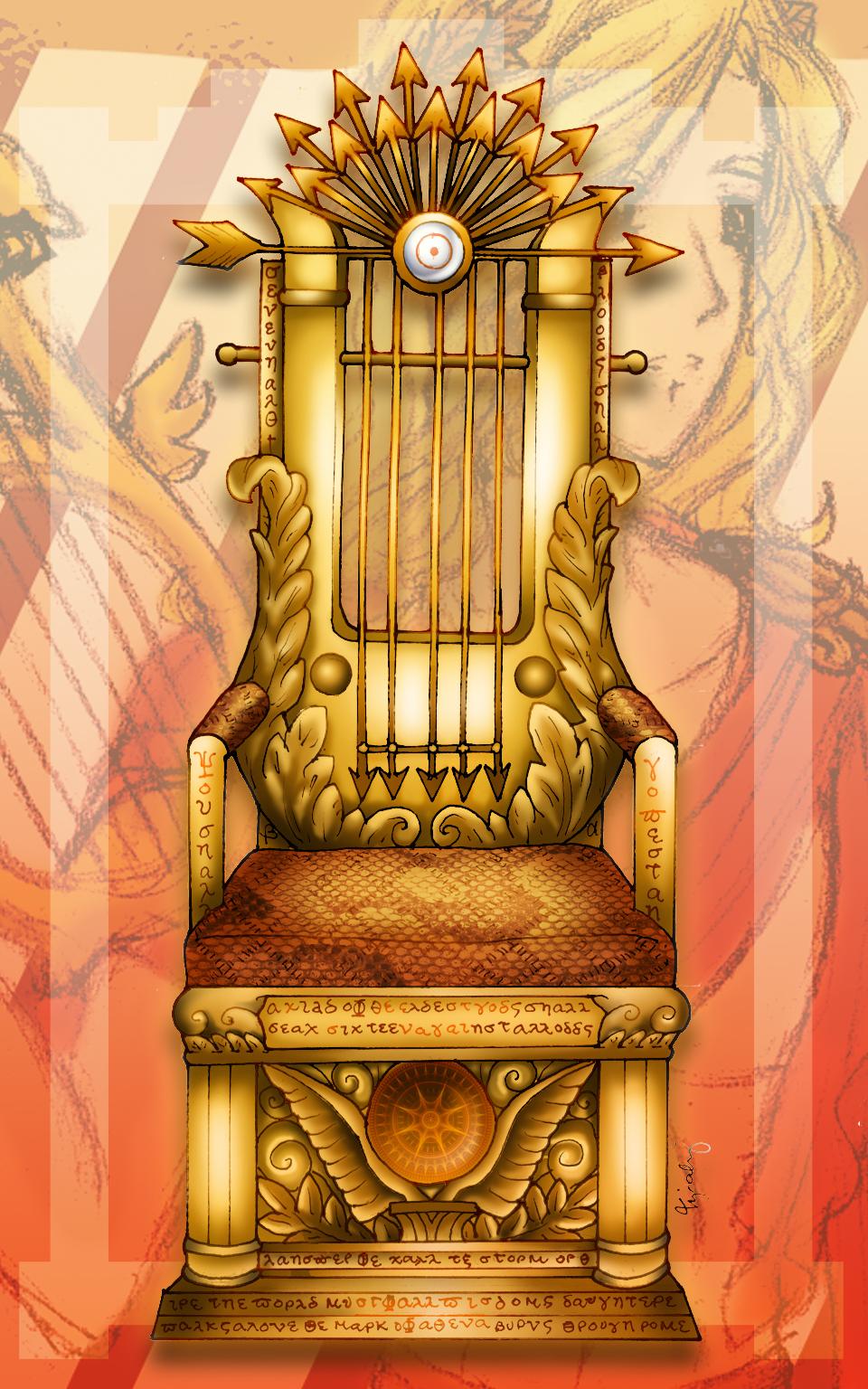 Apollo's Throne of Truth by lordaphaius28 on DeviantArt