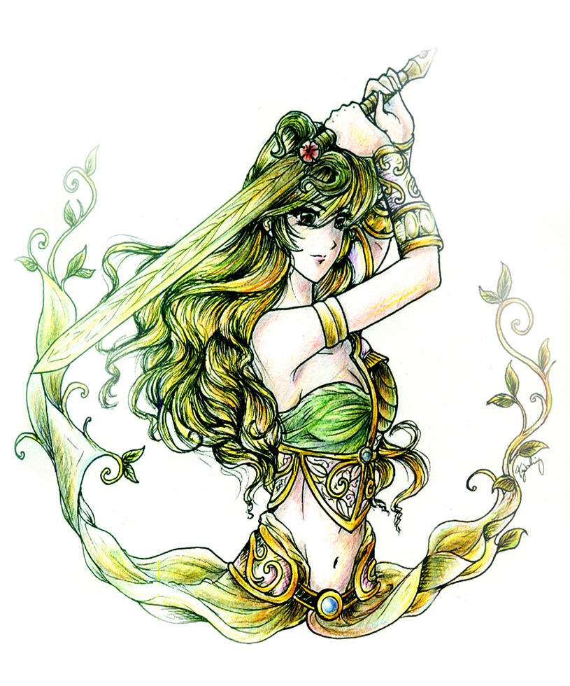 Lady Demeter Khrysaoros by lordaphaius28