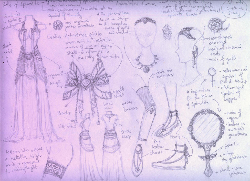 Aphrodite Design Study by lordaphaius28