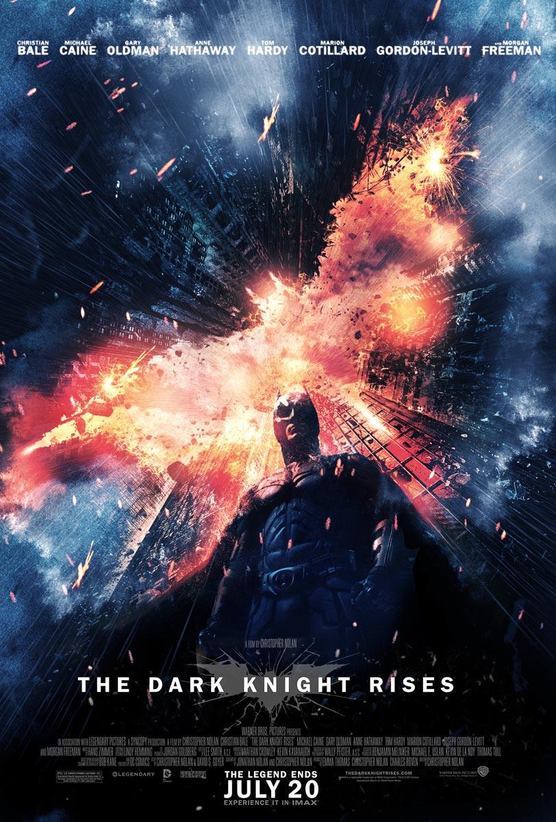 Hasil gambar untuk official the dark knight rises poster