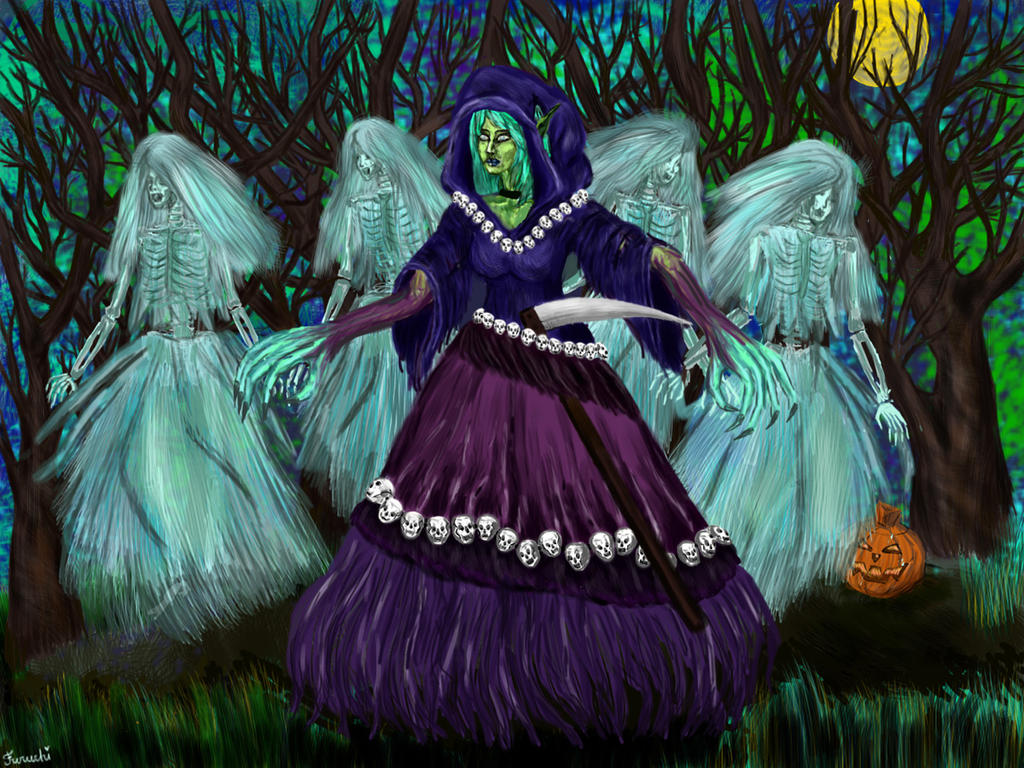 Death Prophet Halloween art by Furuchi666 on DeviantArt