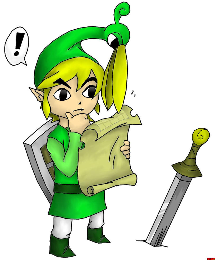 minish cap coloring pages - photo#15