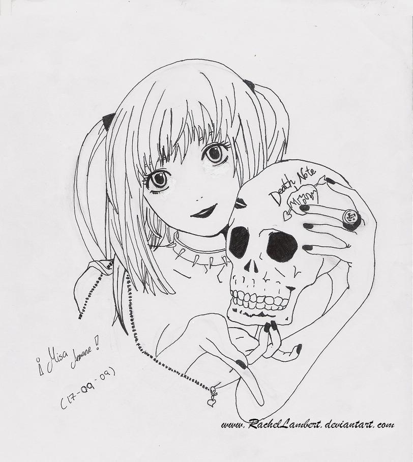 Death Note Misa Amane By Rachellambert On Deviantart