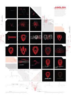 Junglism logo ident show reel