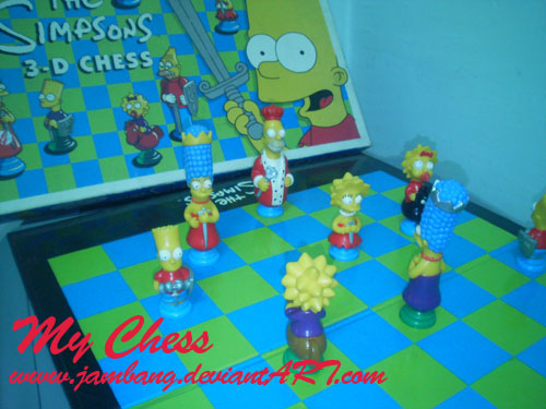 My Chess :The Simpsons: by Jambang