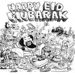 Happy Eid Mubarak 2014 by Jambang