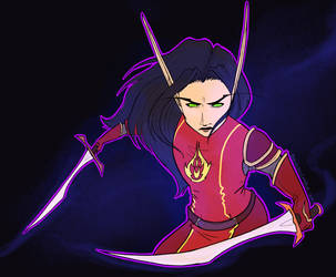 Shirexia Xasarda by baenling
