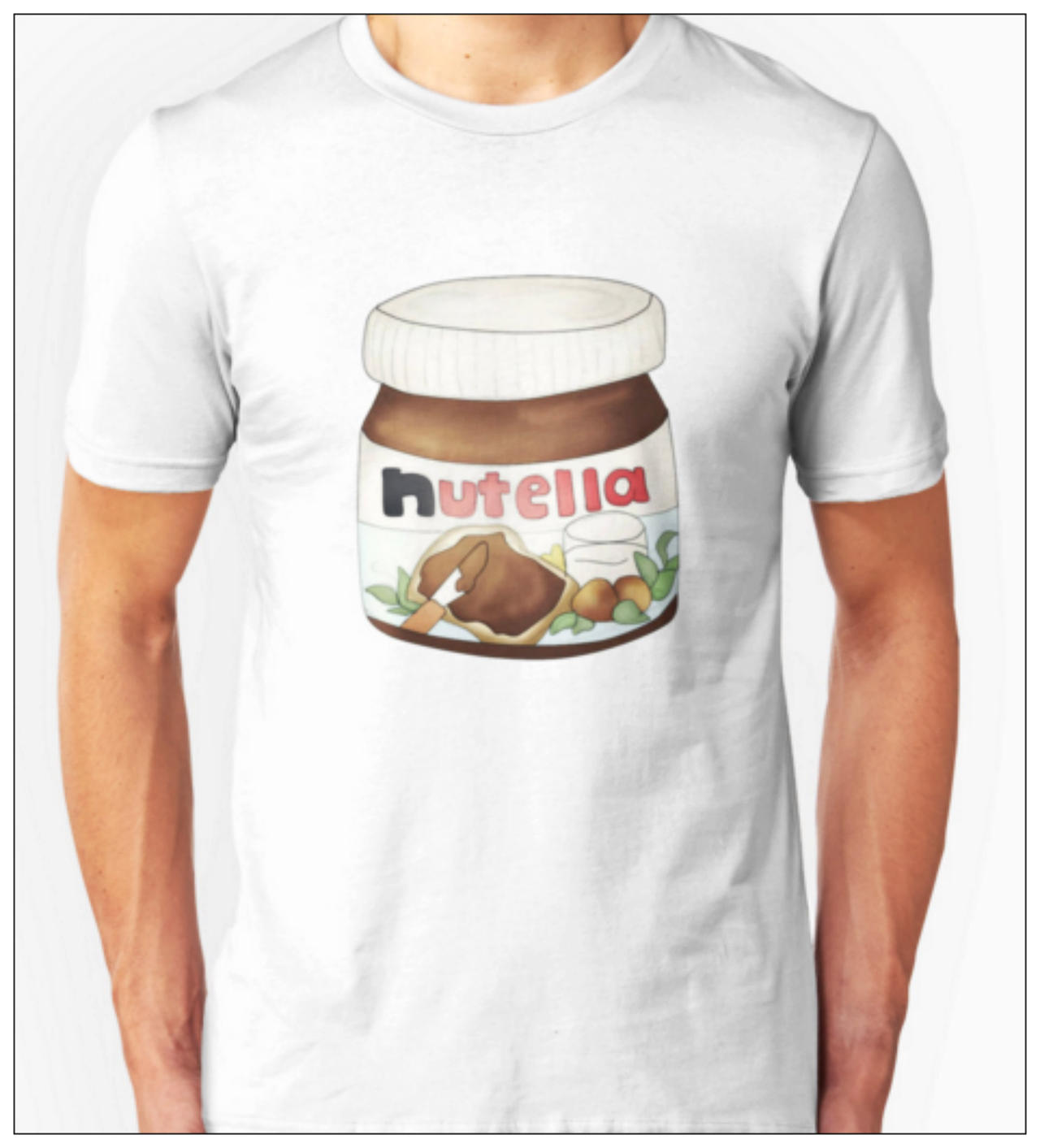 Nutella Love T-Shirt by SugarHit on DeviantArt