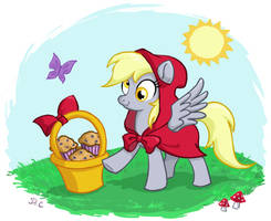 Little Red Derpy Hooves by DrChrissy