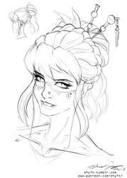 Inks Portrait by shyft9