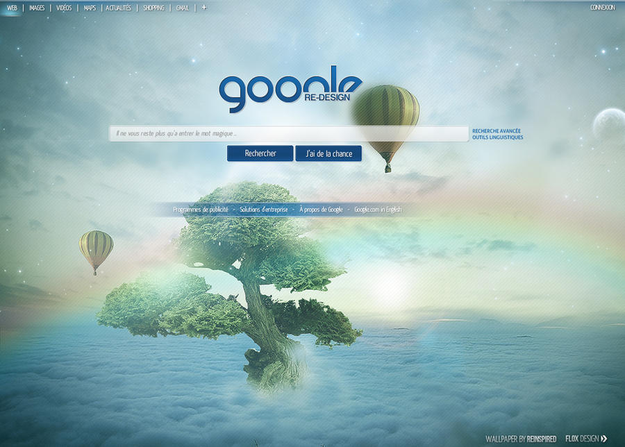 Google Redesign by FloxDesign