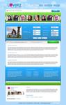 Loverz - Meeting website layout