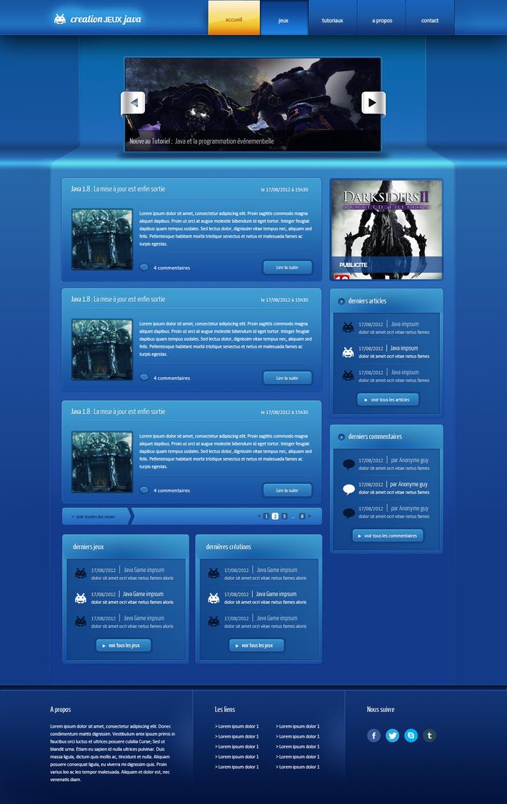Creationjeuxjava java games and tutorials layout by floxdesign on creationjeuxjava java games and tutorials layout by floxdesign baditri Images