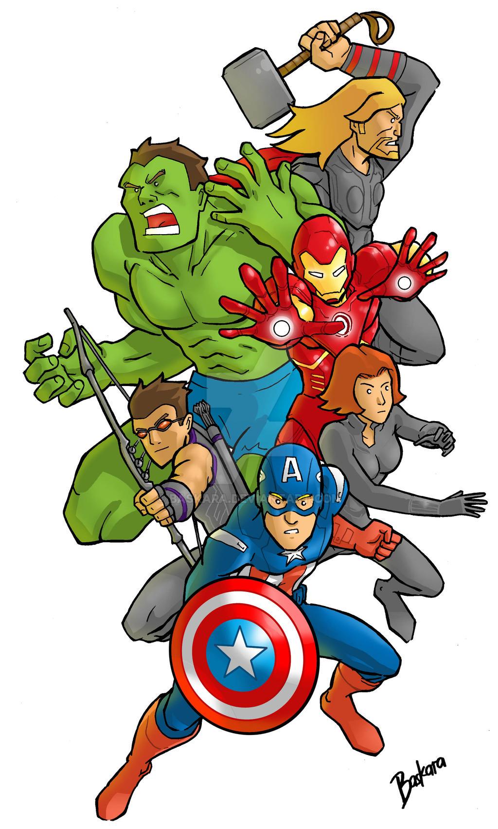 Avengers Assemble by baskara on DeviantArt