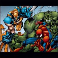 Wolvie/Spidey/Hulk