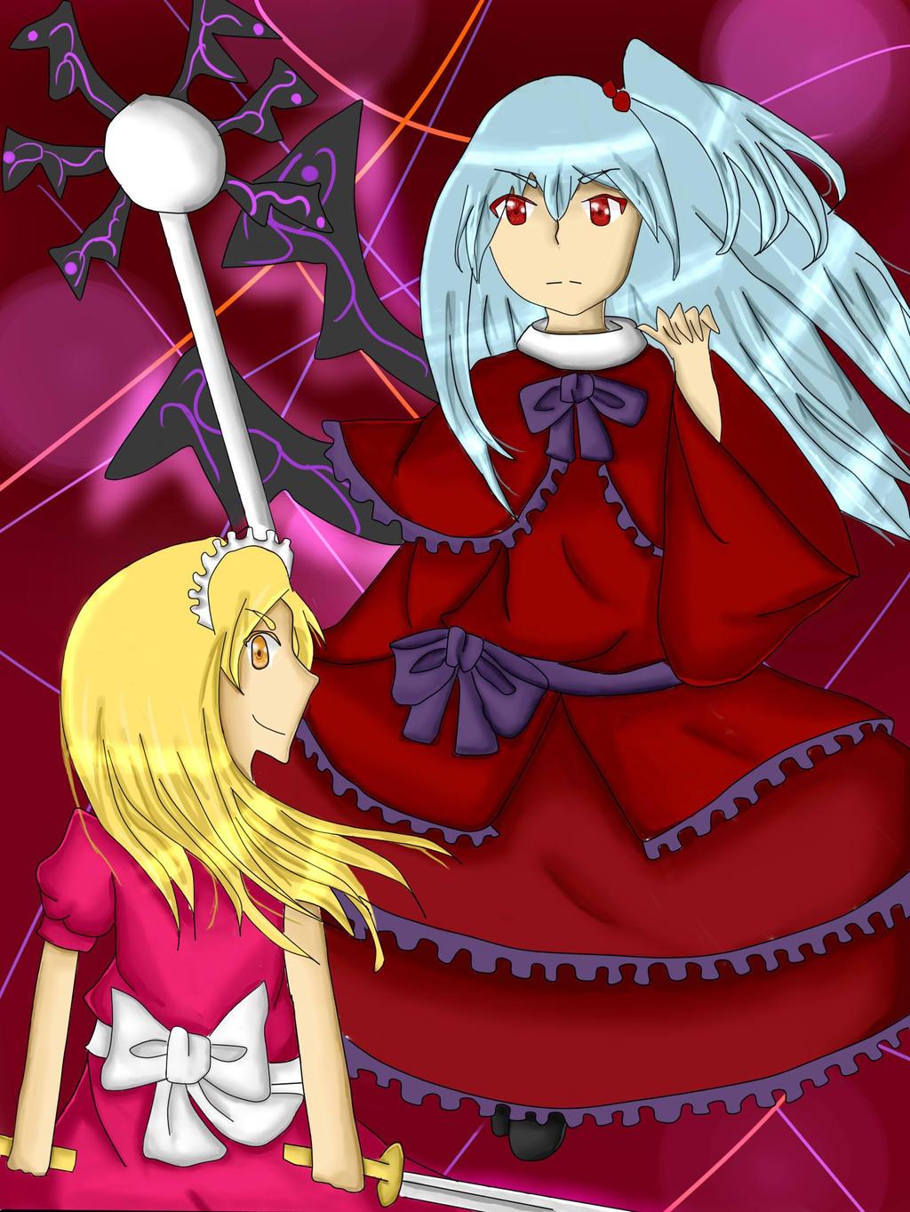 Shinki and Yumeko by Shizuko-Akatsuki