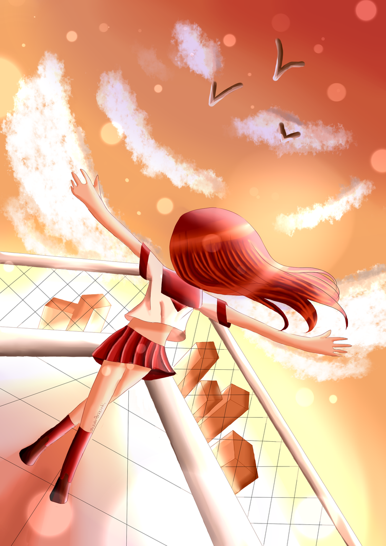 On that day, I looked up at the sky by Shizuko-Akatsuki